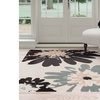 Lavish Home Flower Area Rug. Multiple Sizes Available.