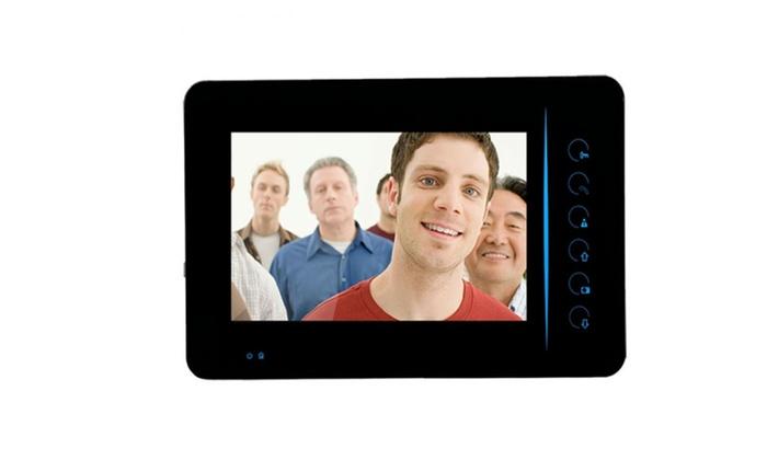 Wireless Video Intercom Doorbell Door Phone Security Camera System