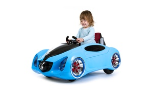12V Battery-Operated Sports Car