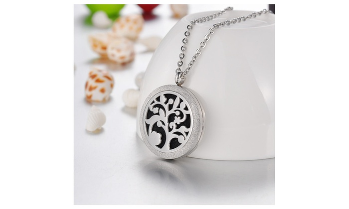 Blooming Tree Essential Oil Diffuser Necklace Doterra Aromatherapy