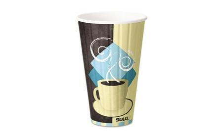 Solo Cup IC16J7534CT Duo Shield Hot Insulated 16 oz. Paper Cups f8b1da69-5cb1-4e01-b35b-2f67d523558b