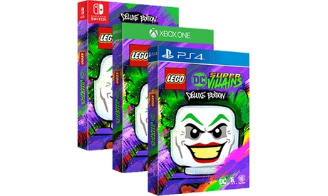 LEGO DC Super-Villains Deluxe Edition for PS4, Xbox One, or Nintendo Switch photo