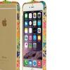 Apple Iphone 6 Plus Diamond Aluminum Bumper Ancient Pt Multi