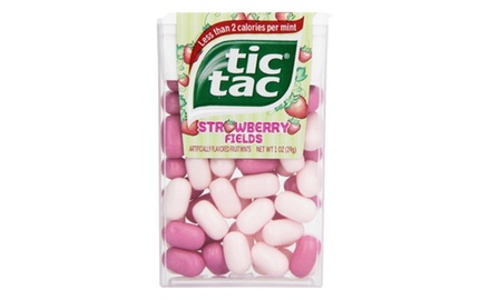 Tic Tacs Big Pack Strawberry Fields 1 oz. (Pack of 12)