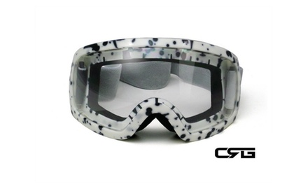 CRG Motocross ATV DIRT BIKE OFF ROAD RACING GOGGLES Adult T815-27-2