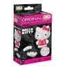 3D Crystal Puzzle - Hello Kitty Lovely: 36 Pcs