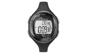 Timex Health Tracker Watch - Black/Gray Flower