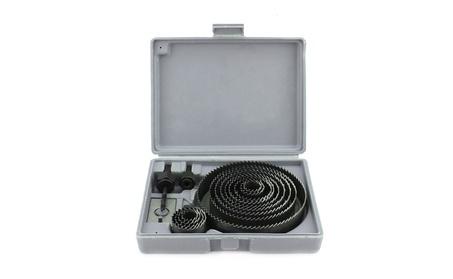 """16pcs Hole Saw Drill Bit Kit Wood Sheet Metal 3/4"""" - 5"""" Cutting Set 7a2b8e5e-ca52-4871-956d-59436c0dded7"""
