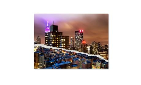Philippe Hugonnard 'City That Never Sleeps' Canvas Art a3aeab9b-93ed-4839-b4c6-ab494d904bad