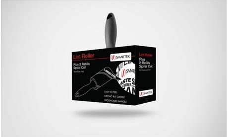 Smartek Lint Roller Kit with Bonus 2 Refill Rollers dc591d3c-fb2c-4aa5-b117-2844082ae6b8