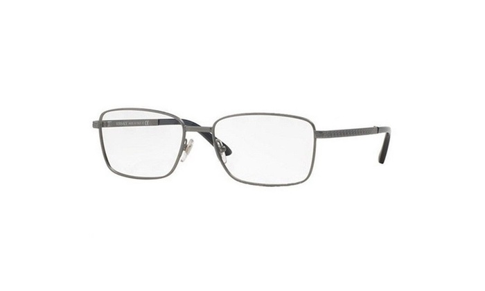 Versace Eyeglasses VE1227 1351 Bronze Grey Frame / Clear Lenses ...