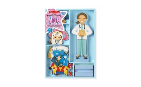 Melissa & Doug 5164 Julia Magnetic Dress-up Toy Set - 24 Piece 6a6a32cb-5088-4c47-86f8-9ecc30a9d6fc
