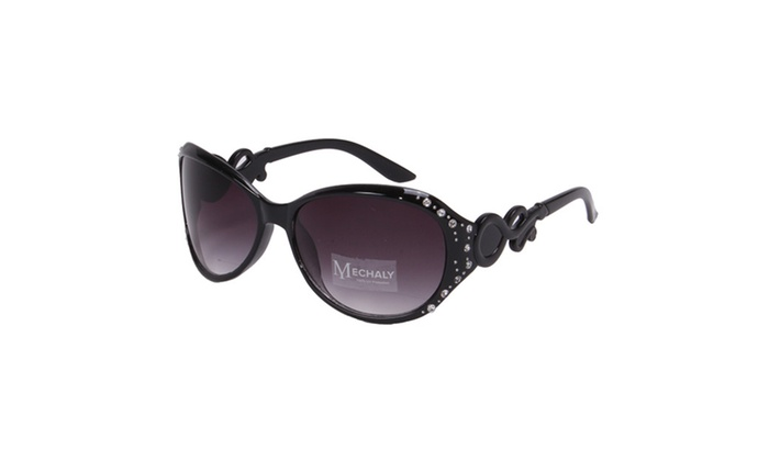 Mechaly Oval Style Women's Sunglasses - 100% UV Protection