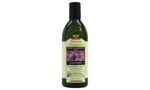 Organics Bath & Shower Gel - Lavender by Avalon for Unisex - 12 oz Gel