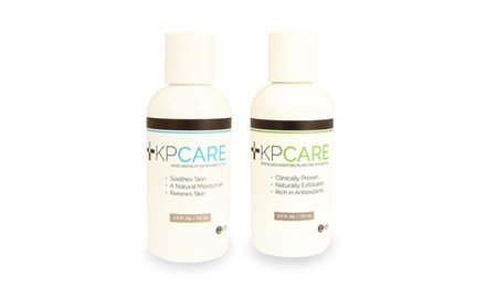 KPCare Ultimate Keratosis Pilaris Treatment Pre-shower Gel + Lotion Kit