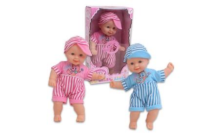 "Cute Baby Vinyl Doll - Asst, 12""H 2ec3eb64-e505-48ea-b446-4a564db4eae7"