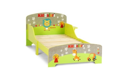 Kids Toddler Bed MDF Children Bedroom Boys and Girls Colorful Furniture