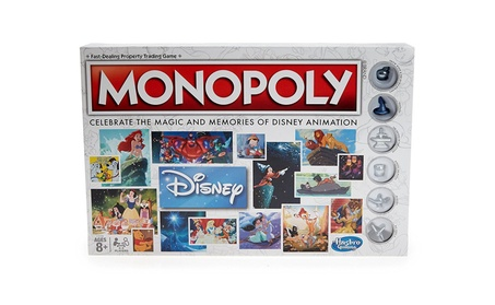 Hasbro HSBC2116 Walt Disney Animation Monopoly Games f6d34459-6b33-4125-9a53-93bf94890ce3
