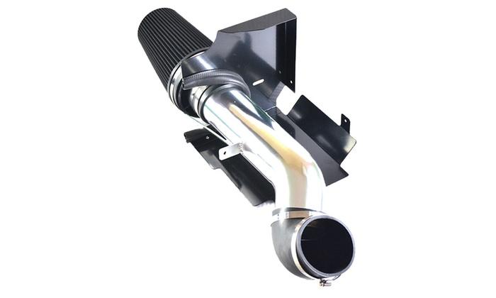 BLACK Cold Air Intake System+Heat Shield for 99-06 GMC//Chevy V8 4.8L//5.3L//6.0L