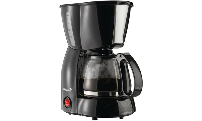 Coffee Maker Groupon : Brentwood Ts-213bk 4-cup Coffee Maker (black) Groupon