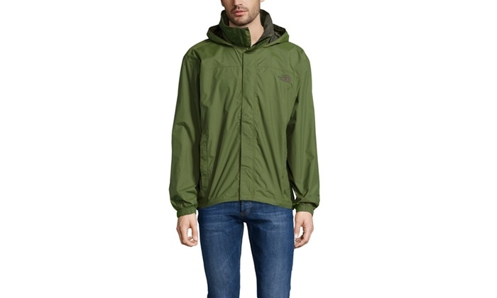 The north face men's resolve jacket scallion green