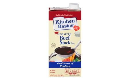 Kitchen Basics No Salt Beef Stock, 32 oz. 0fb0901e-feb6-43fb-bae4-14065296e353