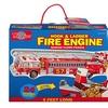 T.S. Shure - Fire Engine Shaped Jumbo Floor Puzzle