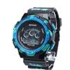 Digital LED Quartz Alarm Date Men's Sports Waterproof  Wrist Watch