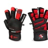 Weight Lifting Gym Training Gloves Long Wrist Strap