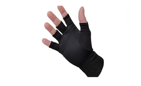 Shop Sky Winter Fingerless Soft Self Warming Compression Warm Gloves ccb9f3eb-114a-4252-9eca-0e9d1a75886a