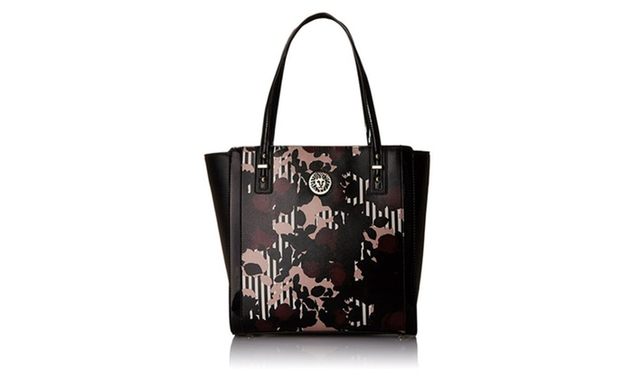 Anne Klein Front Runner Tote Bag, Multi/Black/Black, One Size