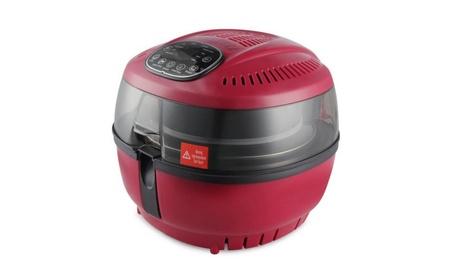 DELLA Air Fryer 10 Quart Red 975d56a5-2ac9-4476-8a81-9a1a4fc29b78