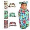 Uniqstore Newborn Blankets and Headband Set