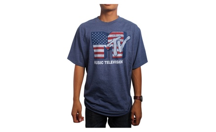 MTV America Harbor Blue T-shirt