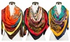 Apex Trading: Womens Paisley Floral Pattern Multi-color Design Square Scarf