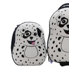 """Kids Travel 17"""" Carry-on Luggage + 13"""" Backpack - Dalmatian"""