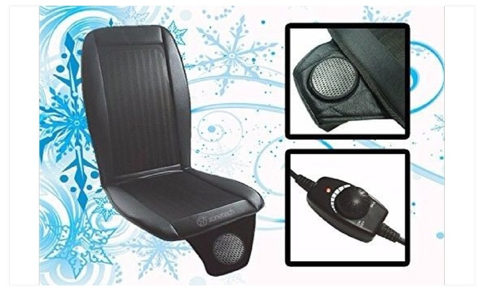 Zone Tech Car Seat Cooler Cushion Cover Summer Cooling Wind Seat ...