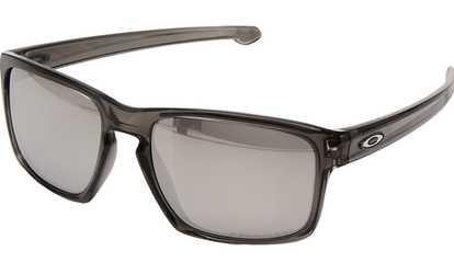 138fc19303 Shop Groupon Oakley Sunglasses Grey Smoke Frame Chrome Iridium Lens