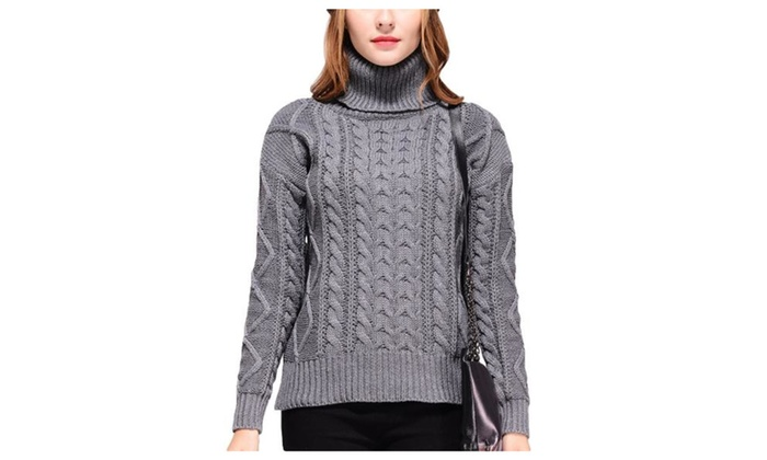 Women's Long Sleeve Regular Fit Fashion Simple Pullovers