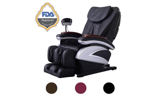Full Body Shiatsu Massage Chair Deluxe