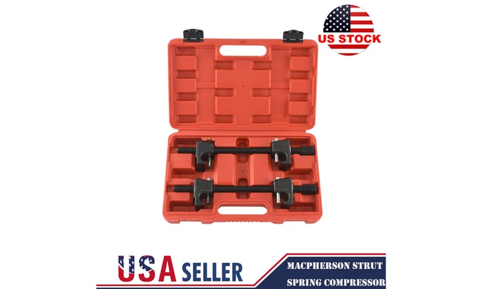 Fit For MacPherson Strut Spring Compressor|2pc Install Remove Coil Springs Heavy