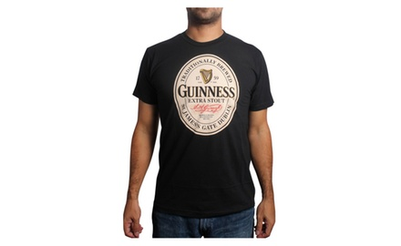 Guinness Label T Shirt