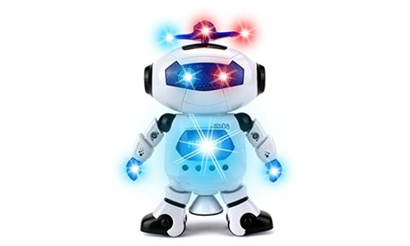 Digital Dancing Warrior Toy Robot Figure w/ Colorful Rotating Lights, Music beaa6029-b08b-456f-8cf7-8114a942ff3e