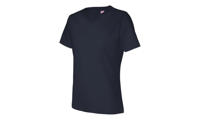L.A.T Cotton V-Neck Tee Shirt LAT3587-5