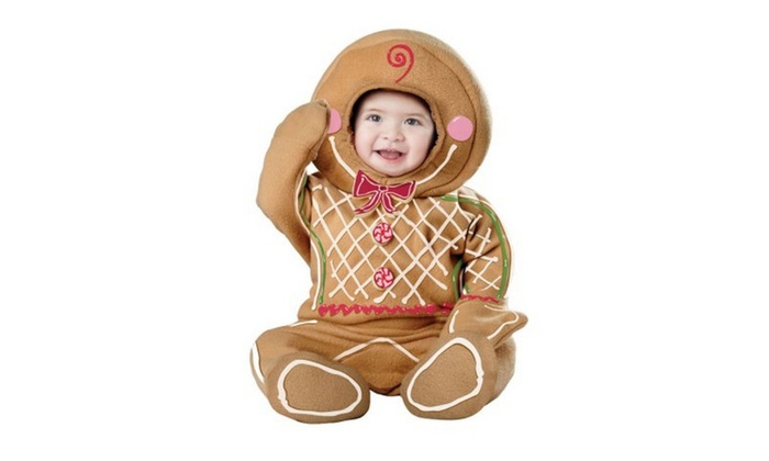 infant gingerbread man halloween costume