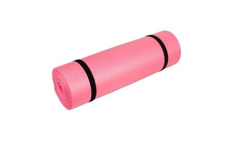 Yoga Mat Extra Thick Exercise Non Slip Washable Gym Pad w/ Carry Strap 2b5edf7b-dc15-40ce-ae7b-6c88a1ae904d