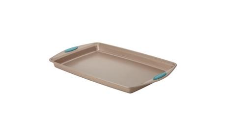Rachael Ray Cucina Baking Pan/Cookie Sheet 11x17 Brown Agave Blue f4751bae-c4e6-40b8-b425-941237d2e682