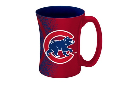 Chicago Cubs Coffee Mug - 14 oz Mocha d840fa0d-5611-4ce3-9b5b-0be3e2a69353