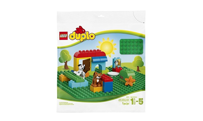 LEGO DUPLO Creative Play Lego Duplo Large Green Building Plate 2304  sc 1 st  Groupon & LEGO DUPLO Creative Play Lego Duplo Large Green Building Plate 2304 ...