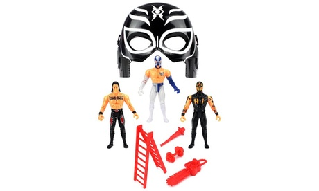 Velocity Toys Ultimate Hero Wrestling Toy Figure Play Set (Figures May Vary) 76477198-024f-4cc2-9a16-afc173f16c54